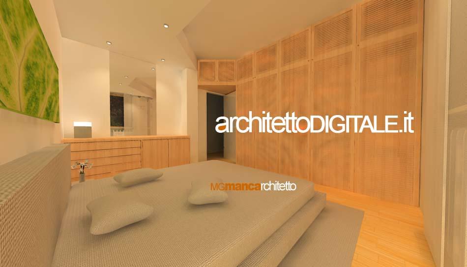 Interni di abitazioni architetto digitale - Sansevieria pianta in camera da letto ...