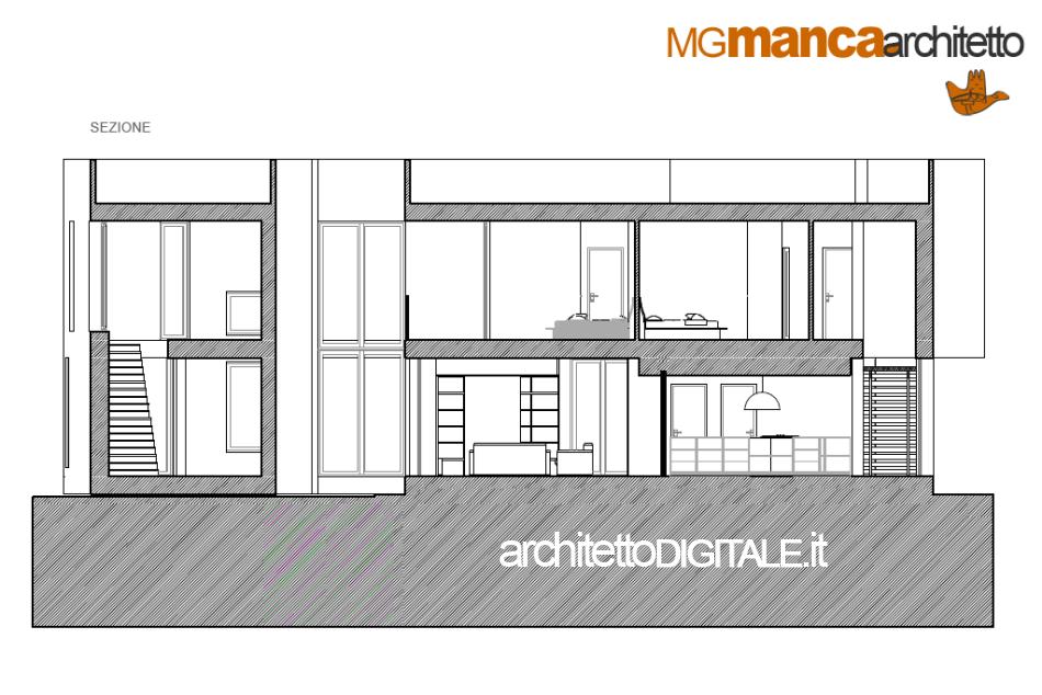 Studio di architettura in brindisi - Disegno progetto casa ...