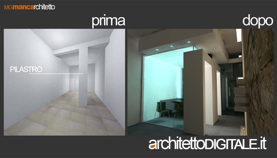 Ristrutturazione attivita 39 architetto digitale for Architetto per interni