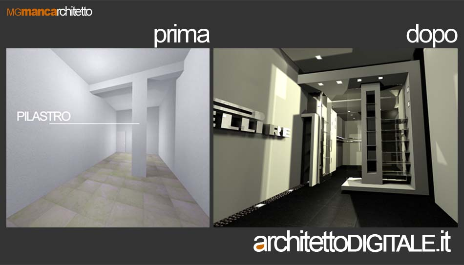 Ristrutturazione attivita 39 architetto digitale for Esempi di arredamento interni