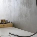 Marmorino idrofobizzato al purograssello di calce con finitura trasparente protettiva by Viero