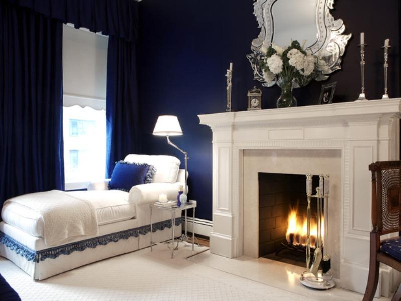 Come scegliere il colore delle pareti architetto digitale for Navy blue and white living room designs