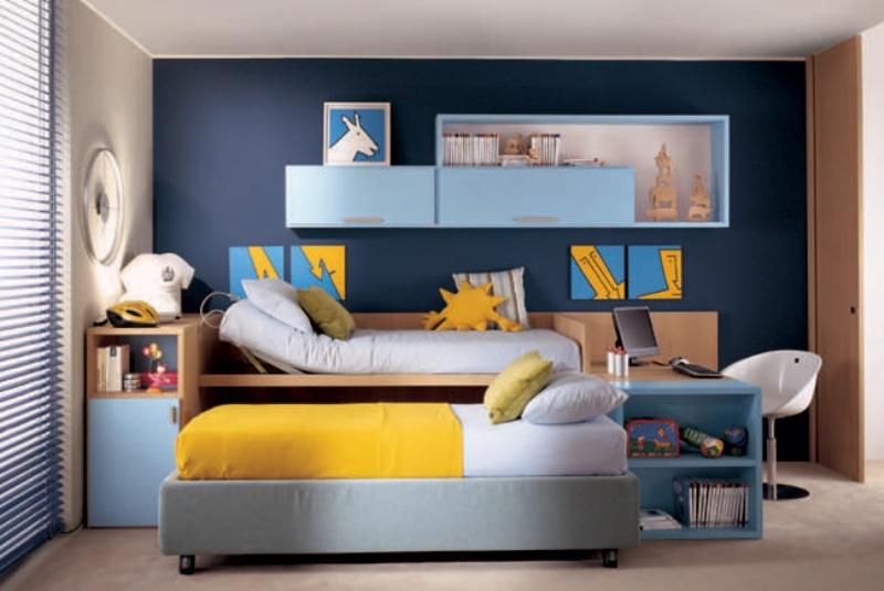 Come scegliere il colore delle pareti architetto digitale - Camera da letto marrone ...