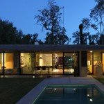 Besonías Almeida House - vista sul giardino