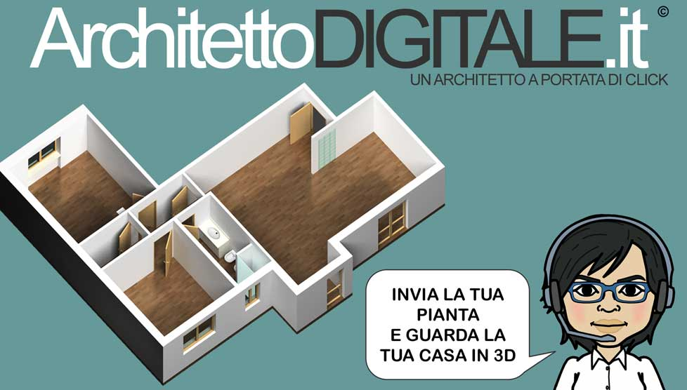Architetto digitale architetto online invia la tua for Architetto on line