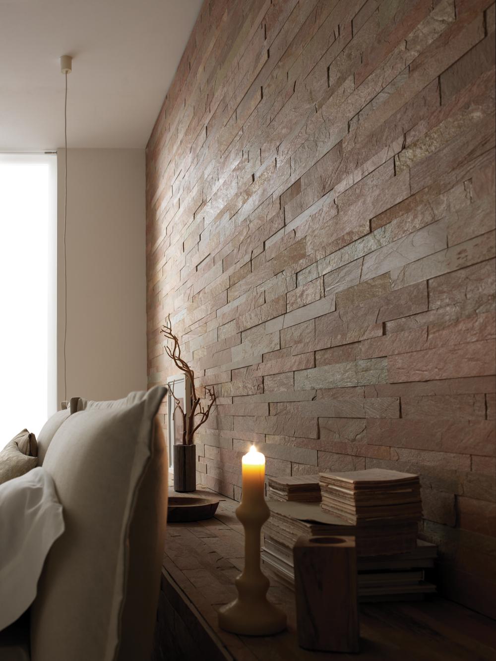 Rivestimento in pietra delle pareti architetto digitale - Parete di pietra ...