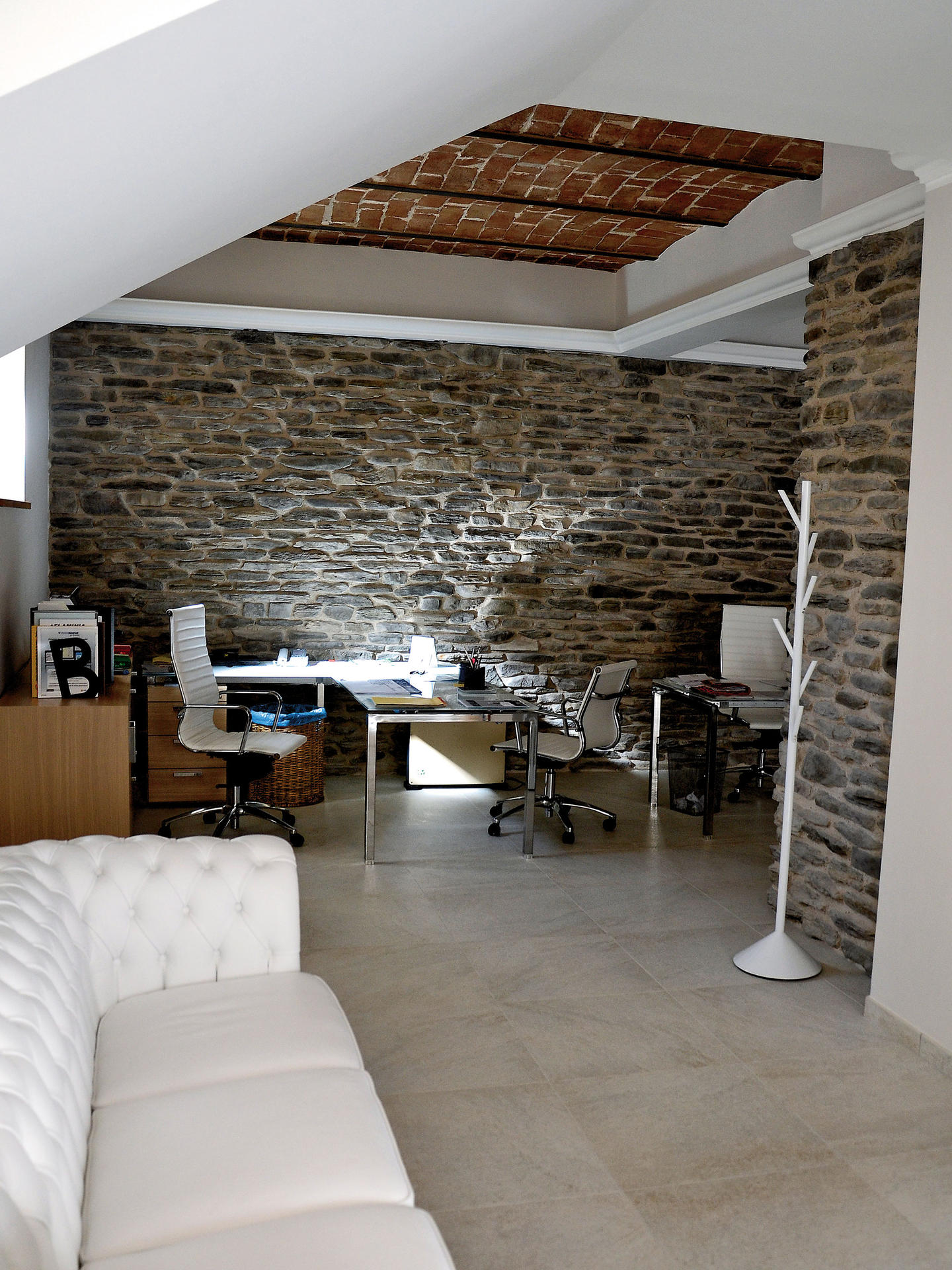 Rivestimento in pietra delle pareti architetto digitale - Vernice per muro interno ...