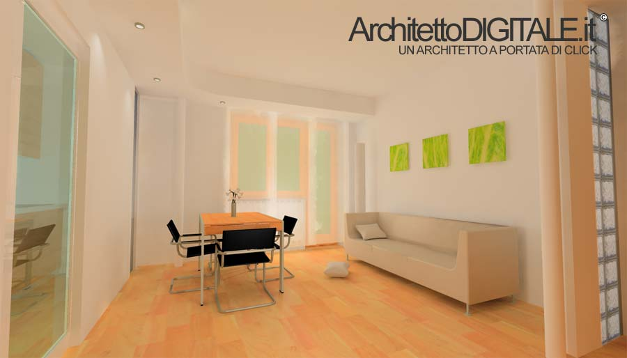 Arredatore online architetto digitale for Architetto on line