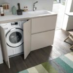 lavatrice incassata nel bagno