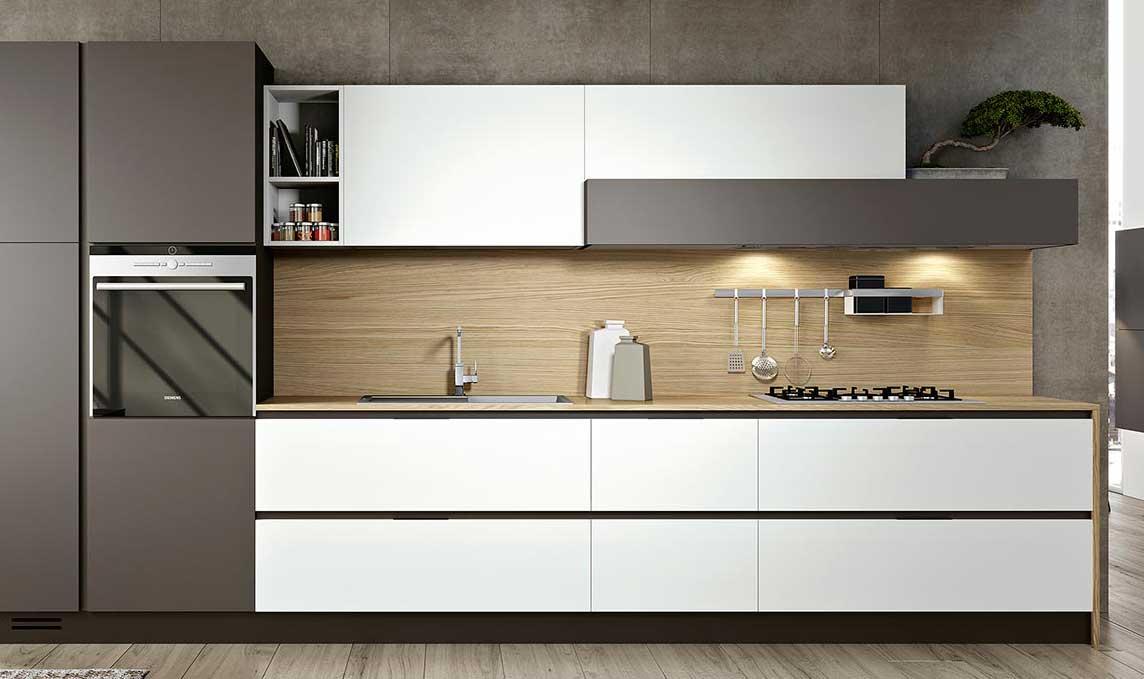 Il paraschizzi, o schienale, della cucina | Architetto DIGITALE