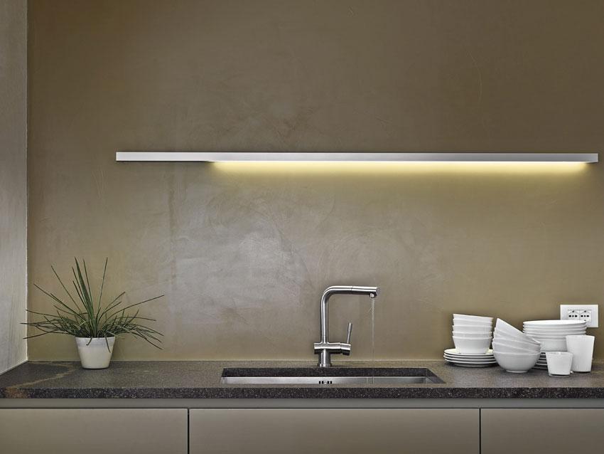 Il paraschizzi o schienale della cucina architetto - Rivestimenti in resina per cucina ...