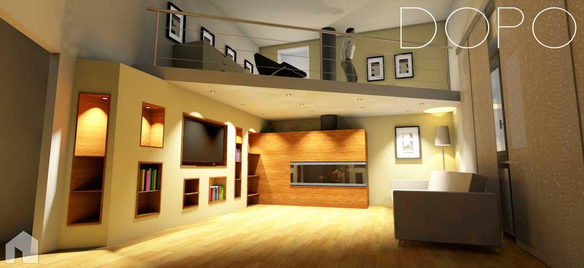 Interni di abitazioni architetto digitale for Architetto interni