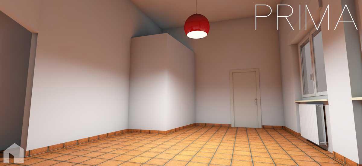 Interni di abitazioni architetto digitale for Progettare parete attrezzata