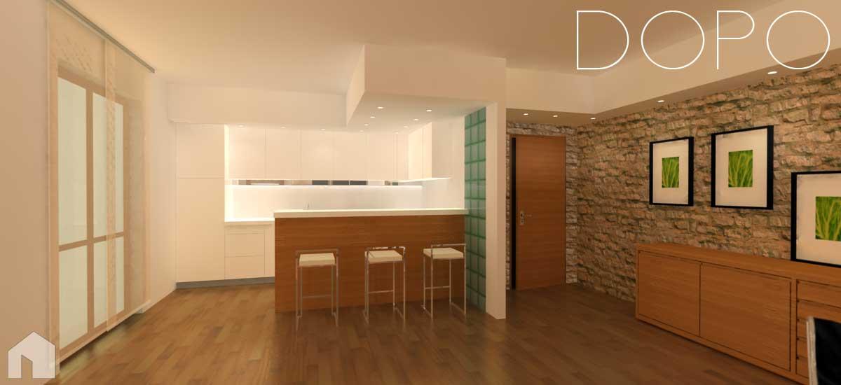 Interni di abitazioni architetto digitale for Progetti di casa sollevati