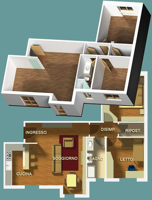 Designer di interni architetto digitale for Architetto on line