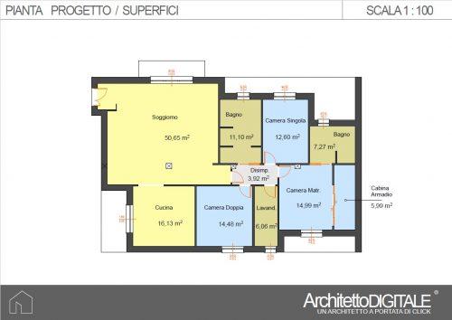 progetto-casa-con-corridoio-superfici-prg