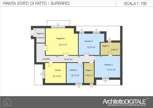 progetto-casa-con-corridoio-superfici-sdf