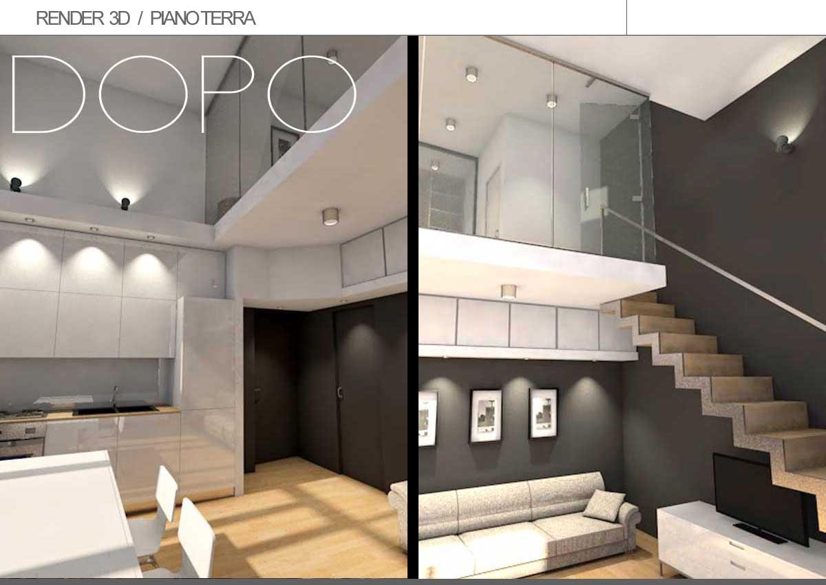 progetto-casa-con-soppalco-render | Architetto DIGITALE